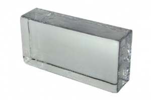 Cegła szklana Crystal Collection Clear 20 x 10 x 5